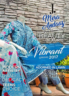junaid jamshed spring summer collection 2017 vol-1