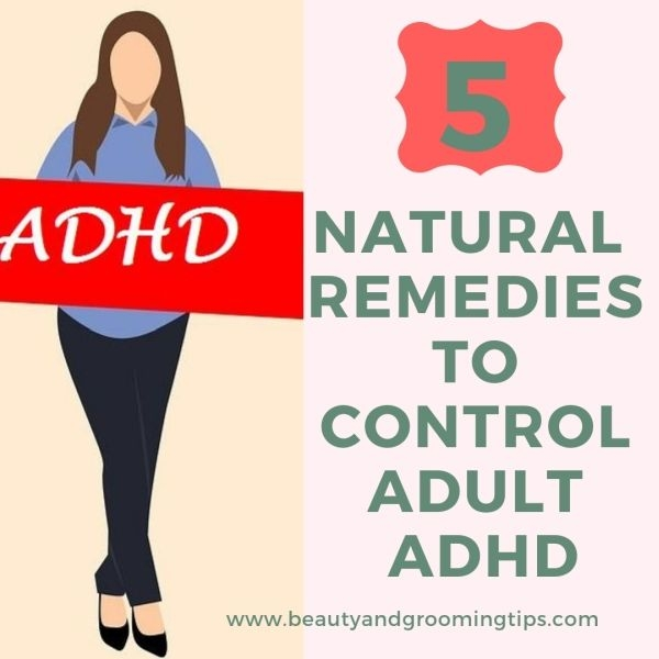 woman holding ADHD banner