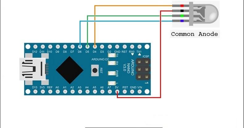 Arduino rgb led code « amazing tips