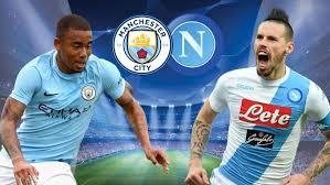 Man City - Napoli free football streaming, Champion League 17/18