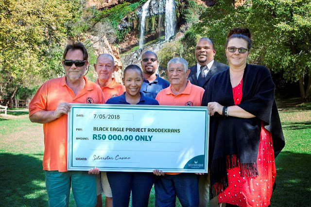 @SilverstarZA Honours Commitment to #BlackEagle Project #WalterSisuluBotanicalGarden #Jozi
