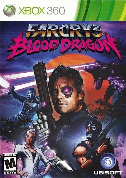 Far Cry 3 Blood Dragon XBOX 360 Cover Caratula