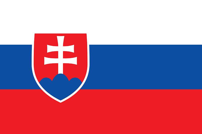 Logo Gambar Bendera Negara Slowakia PNG JPG ukuran 800 px