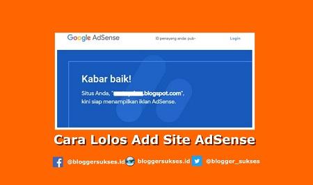 Cara Agar Lolos Review Add Site Adsense