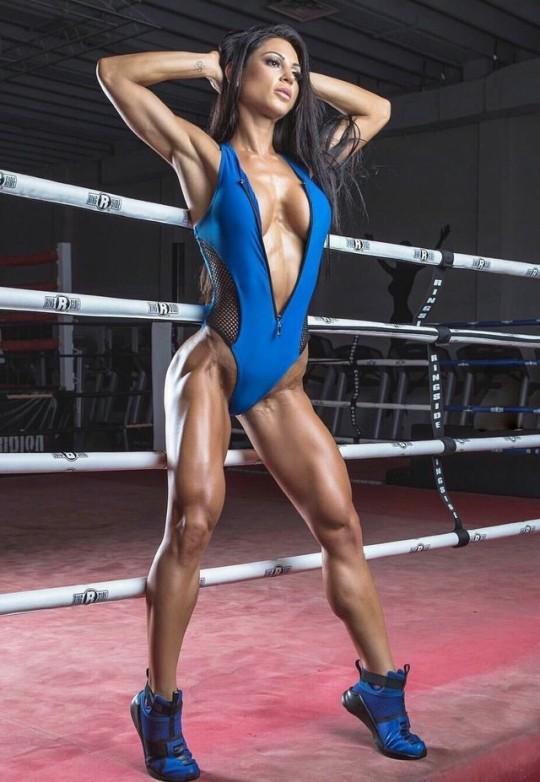 Anita Herbert Muscular Calves