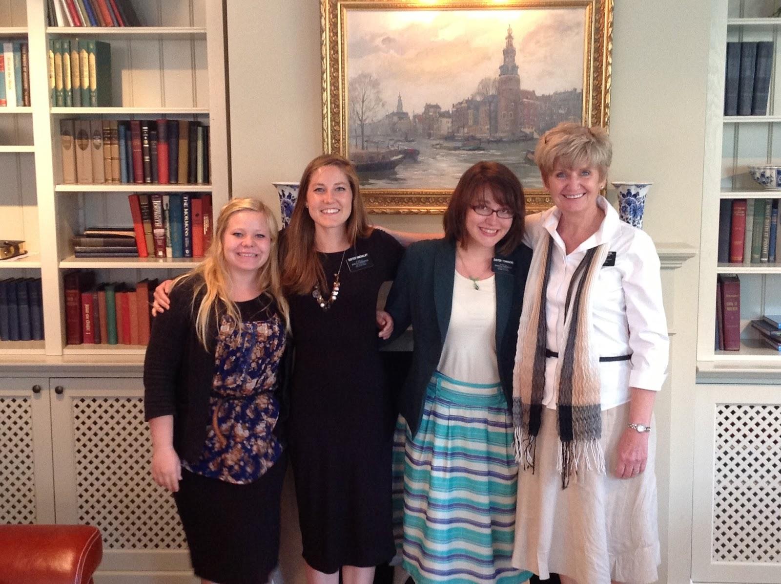 Belgium Netherlands Mission: We lose Three Sister Missionaries