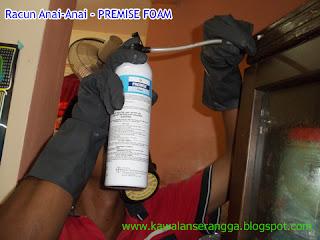 Rawatan Setempat - Racun Anai-Anai Premise Foam