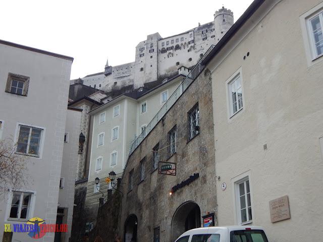 Entrada Funicular Salzburgo