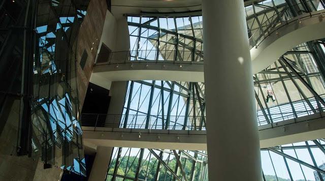 El interior del Guggenheim