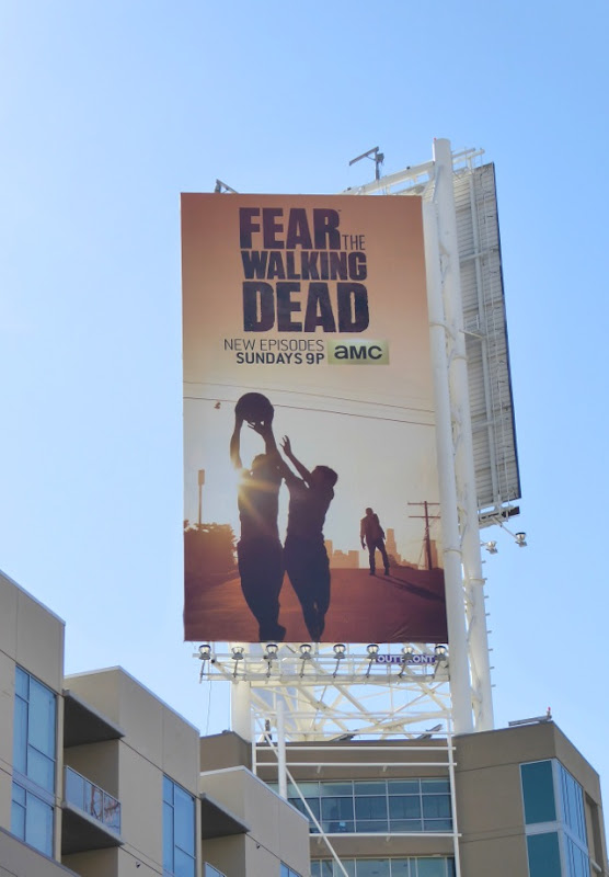 Fear the Walking Dead series premiere vertical billboard