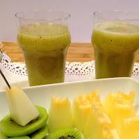 Sumo de kiwi e melão
