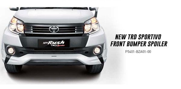Accessories New Toyota Rush