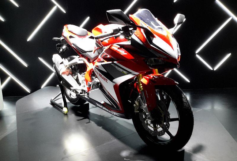 The Worlds Debut Of Honda Cbr250rr