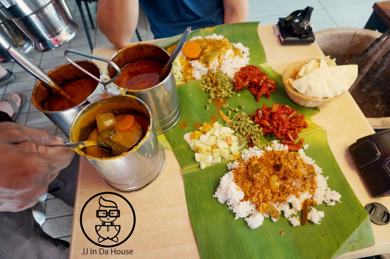 Jj In Da House Kuala Lumpur Banana Leaf Rice Restaurant Sri