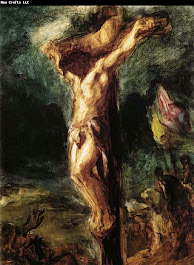 Eugene Delacroix, Christ on the Cross