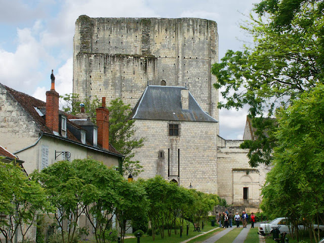 Donjon (castle keep) de Loches.  Indre et Loire, France. Photographed by Susan Walter. Tour the Loire Valley with a classic car and a private guide.