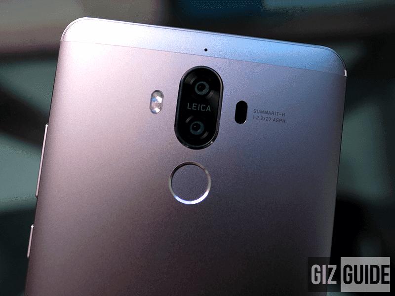 Huawei updates Mate 9 to Oreo!