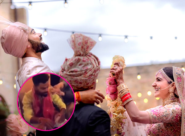 Virat Anushka Marriage: The cricketer is looking extremely upbeat at his haldi function
