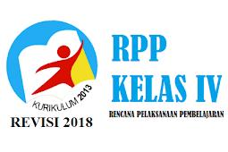 RPP Kelas 4 Tema 1 Subtema 1 2 3 4 Kurikulum 2013 Tahun 2018