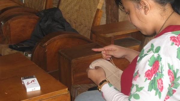 kursus membuat dompet kulit handmade