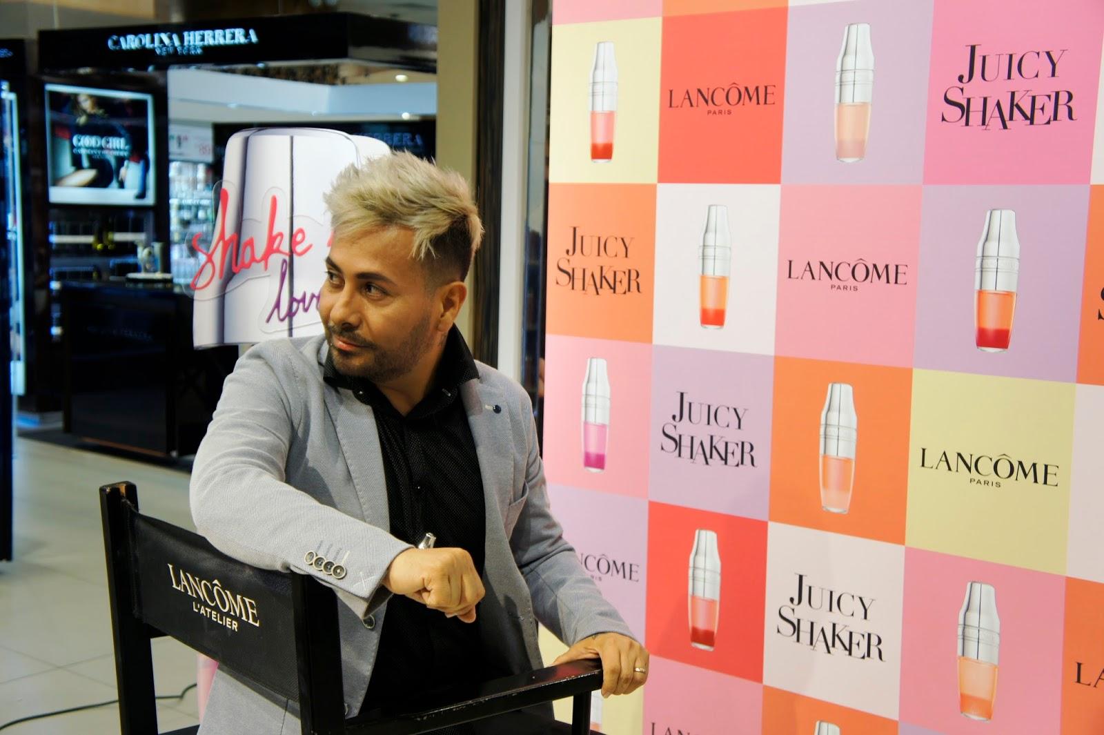 Juicy Shaker  - Lancôme - Maquillador Nando Mesía