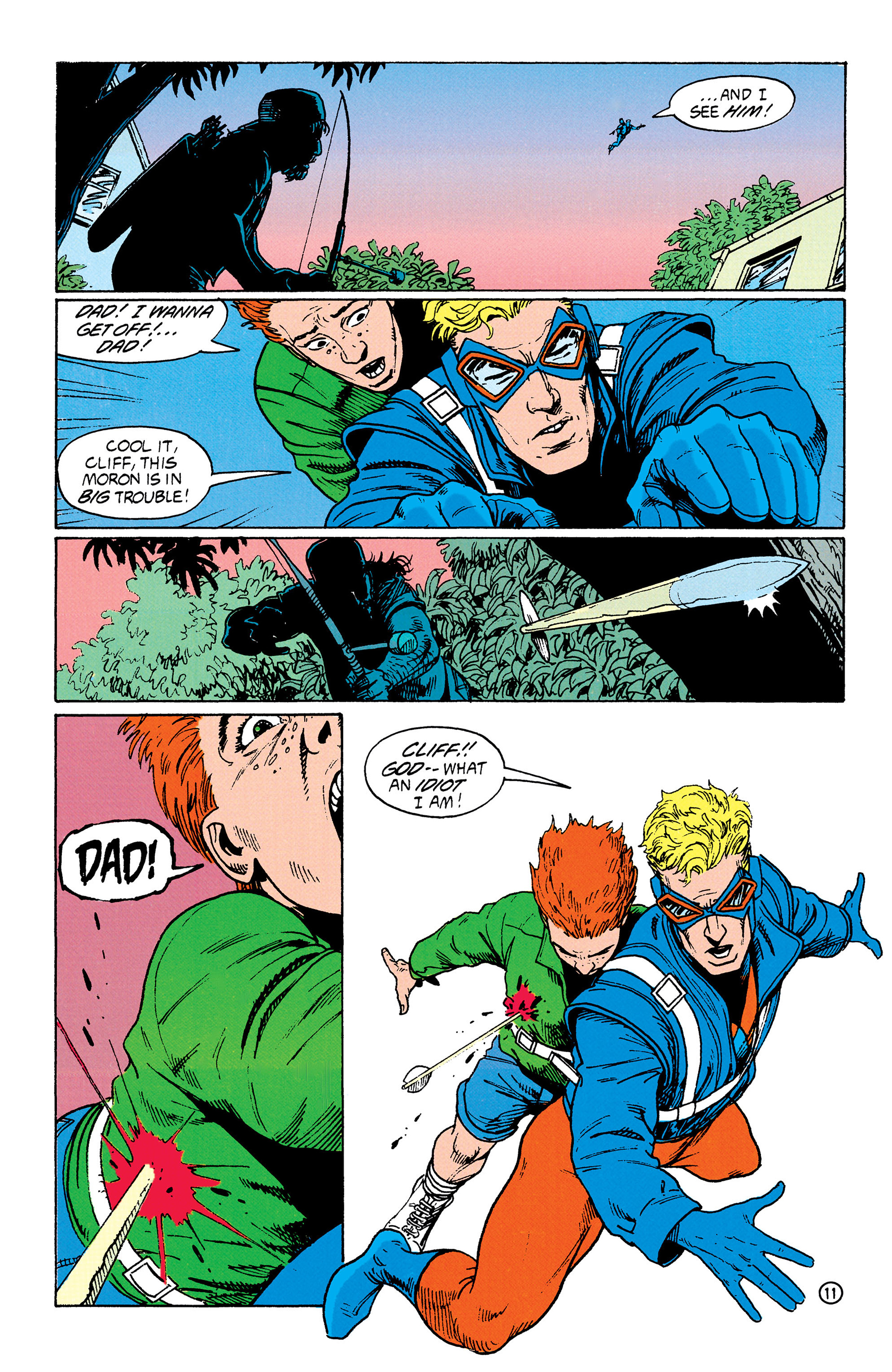 Read online Animal Man (1988) comic -  Issue #33 - 12