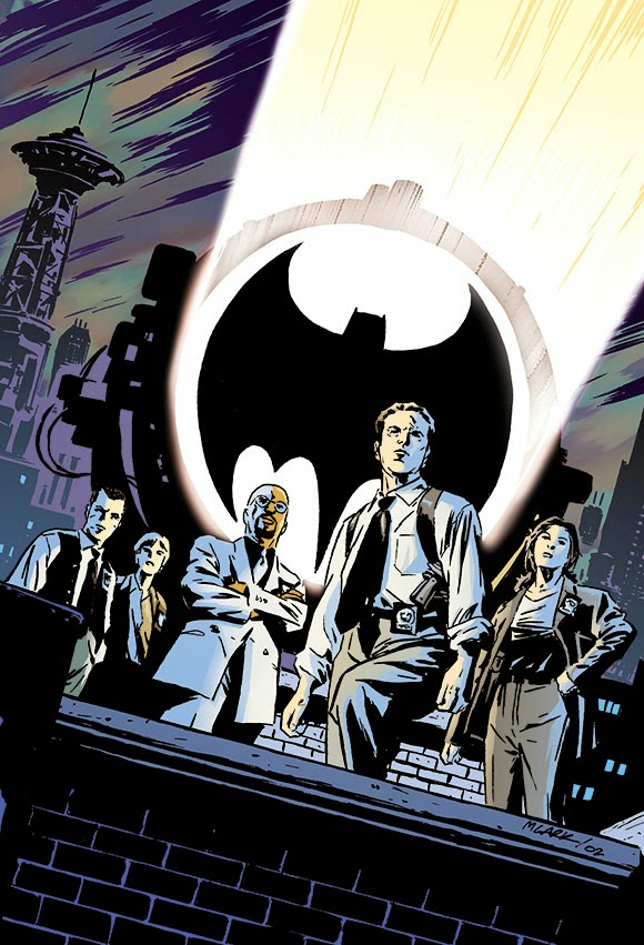 The GCPD switches on the Bat-Signal to ask Batman his opinion on whether or not that bitch from the New York Times was racist about Shonda Rhimes.