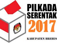 Update Hasil Perhitungan Cepat / Quick Count Pilbup Kabupaten Brebes 2017