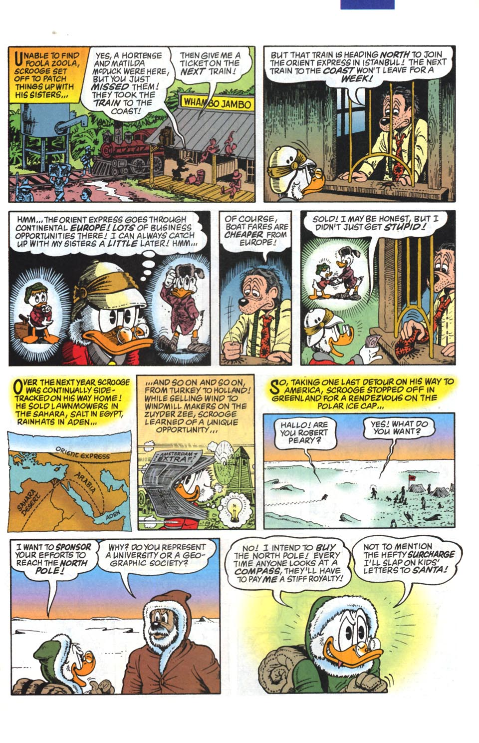 Read online Uncle Scrooge (1953) comic -  Issue #295 - 14