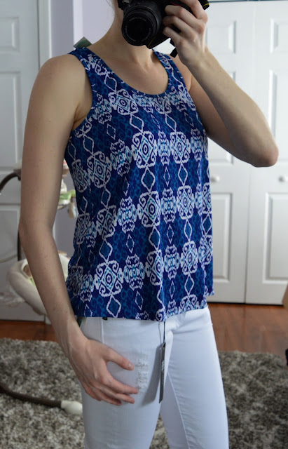 Pixley Milani Knit Tank - Stitch Fix Review