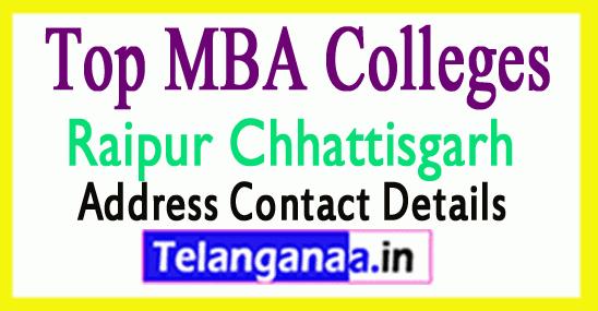 Top MBA Colleges in Raipur Chhattisgarh