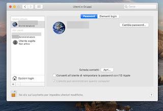 Nuovo utente Mac