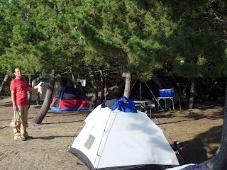 佐渡の窪田キャンプ場