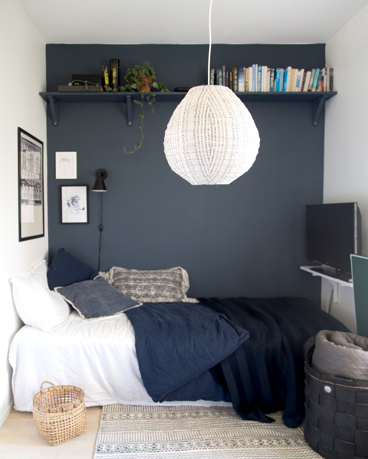 my scandinavian home: Small Space Make-over: A Teen Boy's ... on Small Bedroom Ideas For Teens  id=71378