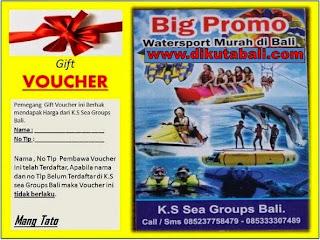Dapatkan Sekarang Juga Voucher Watersport Khusus Untuk Di Bali | Raih Harga Murah Promonya