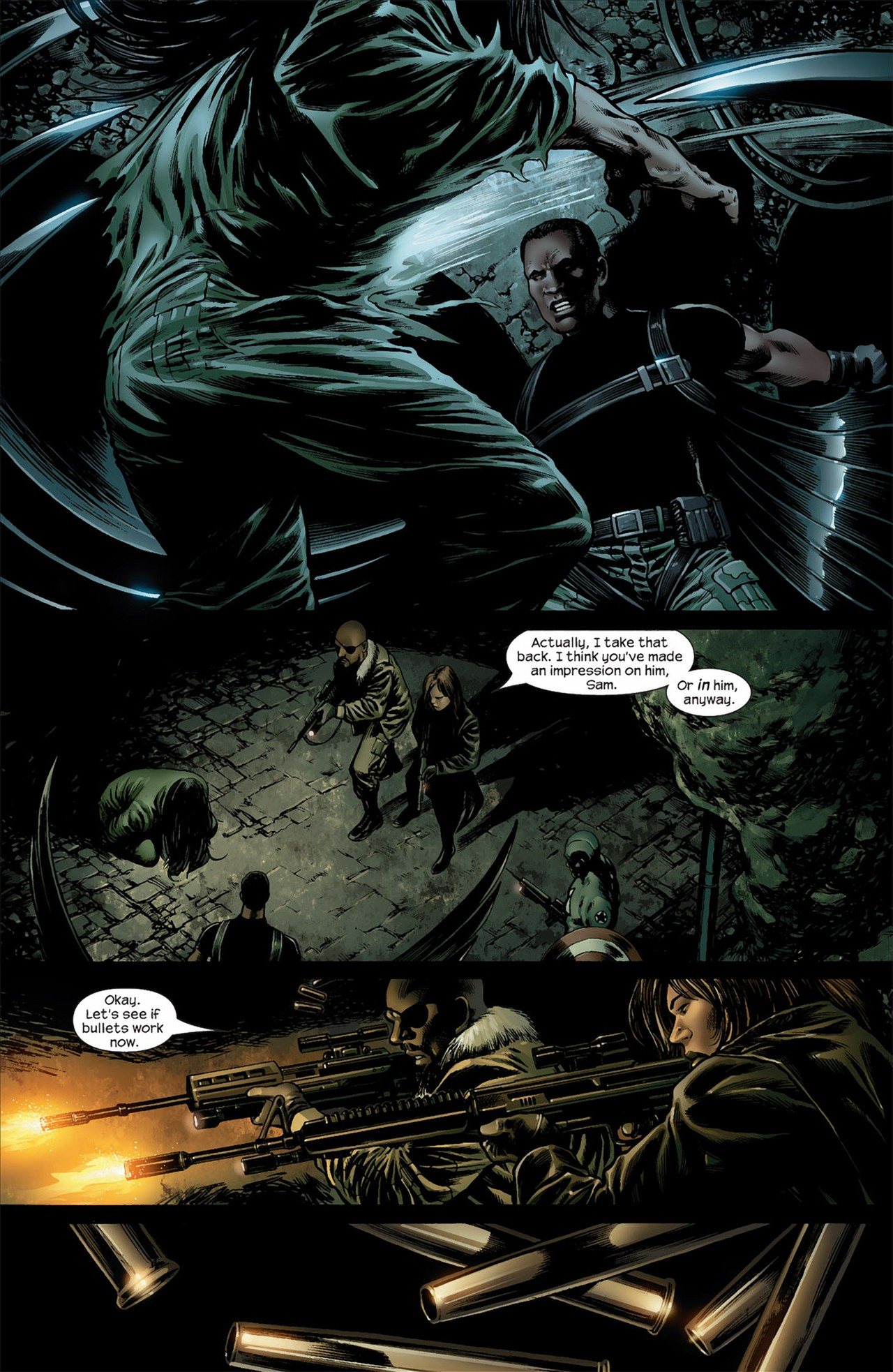 Read online Ultimate Nightmare comic -  Issue #3 - 14