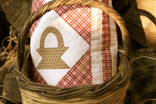 Country baskets quilt