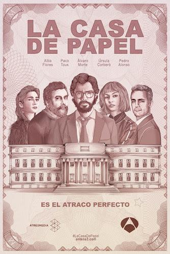 La Casa de Papel Temporada 1 (Web-DL 720p Castellano)