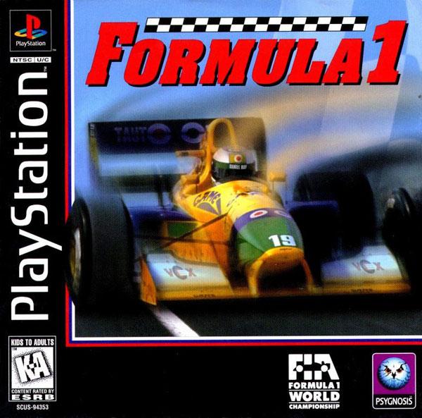 Formula 1  - PS1 - ISOs Download