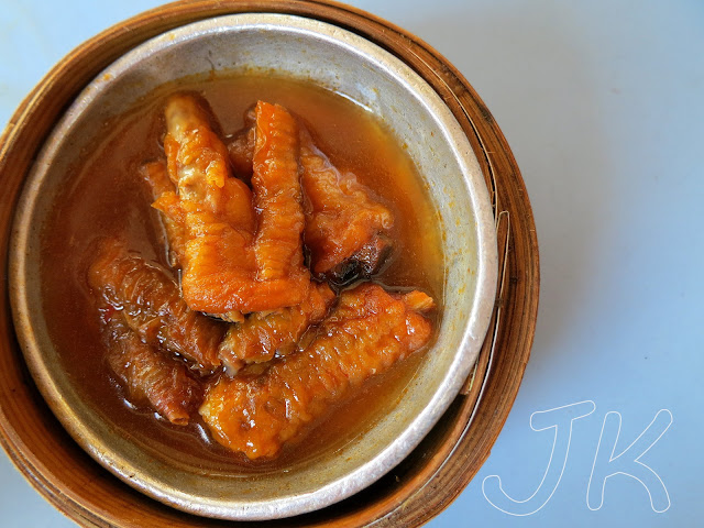 Fried and braised chicken feet Johor