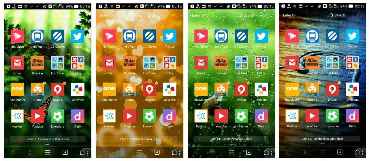 Uc Browser Browser Penuh Tema Yuk Belajar Android