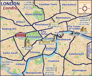 Sightseeing Map Of London.London Tourism Visit London London Map London Hotels