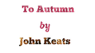 """To Autumn""  is an objective poem?."