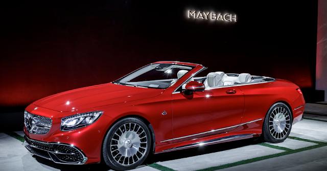 2018 Mercedes-Maybach S650 Sedan Gets AMG's Big Torquey Twelve