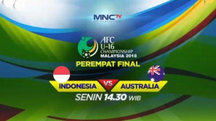 Indonesia Siap Hadapi Australia - Perempat Final Piala AFC U-16 2018