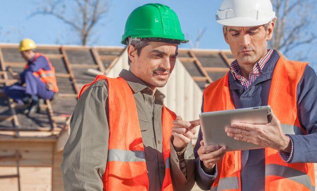 Uso de tecnología en la construcción