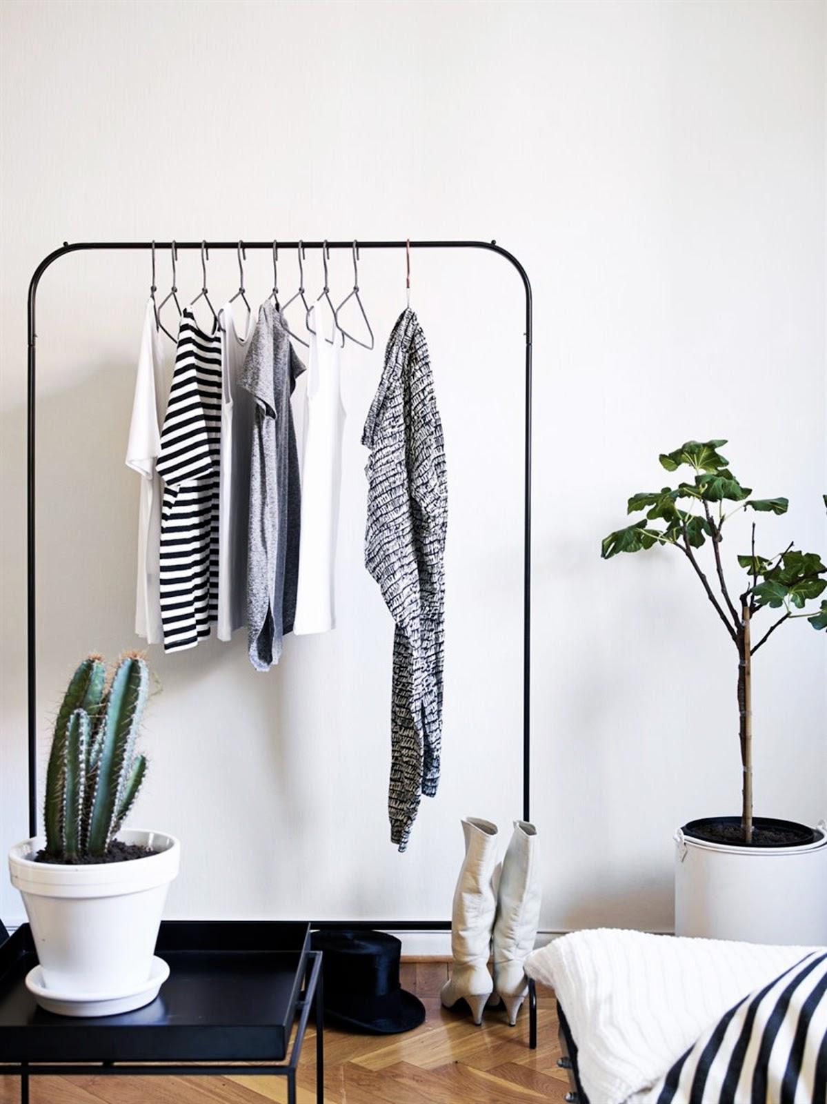 7 passos [simples] para a organização do guarda-roupa!