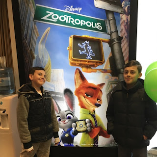 Disney Zootropolis movie poster