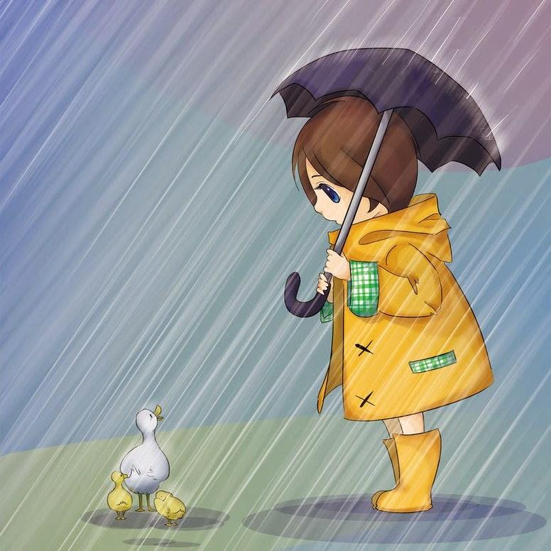 Download Animasi DP BBM Hujan Terbaru 2015