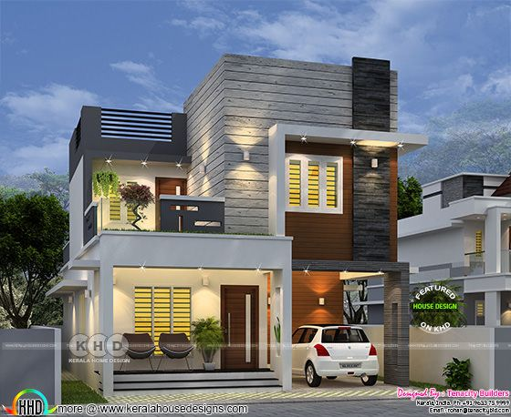 Twilight Gem House front view rendering